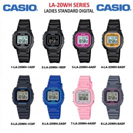 Casio LA-20WH Series Original & Genuine LCD Watch