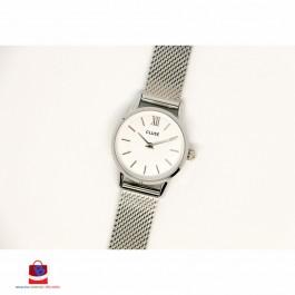 CL50005 Cluse La Vedette Mesh Silver & White Ladies Watch