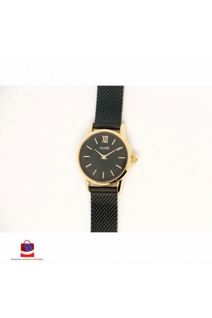 CL50023 Cluse La Vedette Mesh Gold Black/Black Ladies Watch