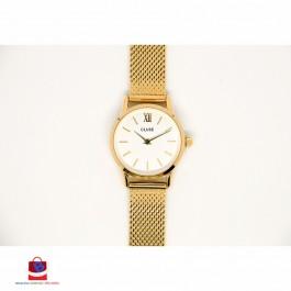 CL50007 Cluse La Vedette Mesh Gold/White Ladies Watch