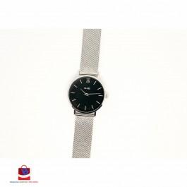 CL30015 Cluse Minuit Mesh Silver/Black Ladies Watch