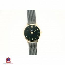 CL30026 Cluse Minuit Mesh Gold Black Black Ladies Watch