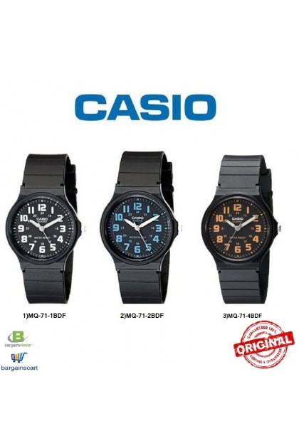 Casio Original & Genuine Watch MQ-71 / MQ-71-2BDF / MQ-71-4BDF / MQ-71-1BDF