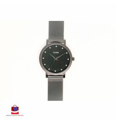 CL18304 Cluse Pavane Black Stones Ladies Watch