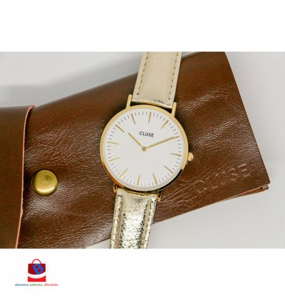 CL18421 Cluse La Bohème Gold White Gold Metallic Ladies Watch