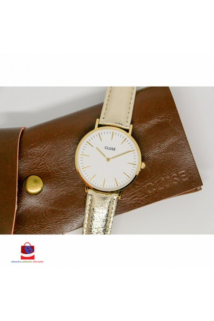 CL18421 Cluse La Bohème Gold White Gold Metallic Ladies Watch