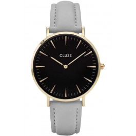 CL18411 Clues La Bohème Gold Black Grey Ladies Watch
