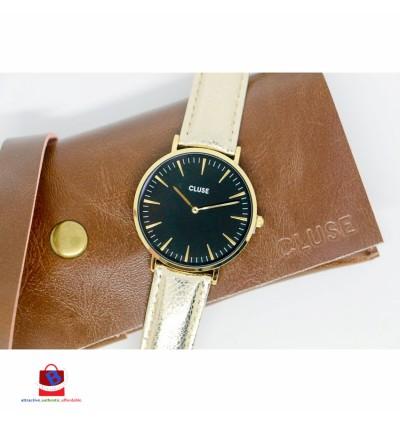 CL18422 Cluse La Bohème Gold Black/Gold Metallic Ladies Watch
