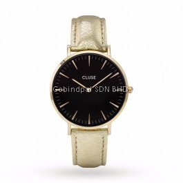CL18422 Cluse La Bohème Gold Black/Gold Metallic Ladies Watch