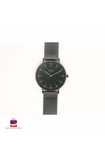 CL18111 Cluse La Bohème Mesh Full Black Ladies Watch