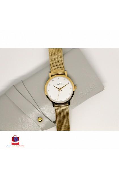 CL18302 Cluse Pavane Gold Stones Ladies Watch