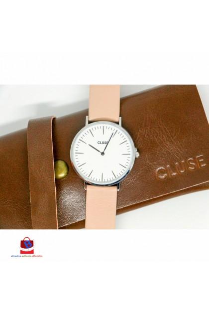 CL18231 Cluse La Bohème Silver White/Nude Ladies Watch
