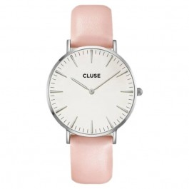 CL18231 Cluse La Bohème Silver White/Nude Ladies Watch