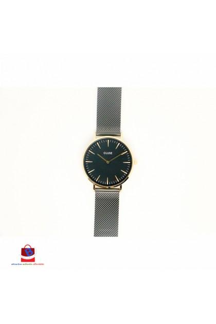 CL18117 Cluse La Bohème Mesh Gold All Black Ladies Watch