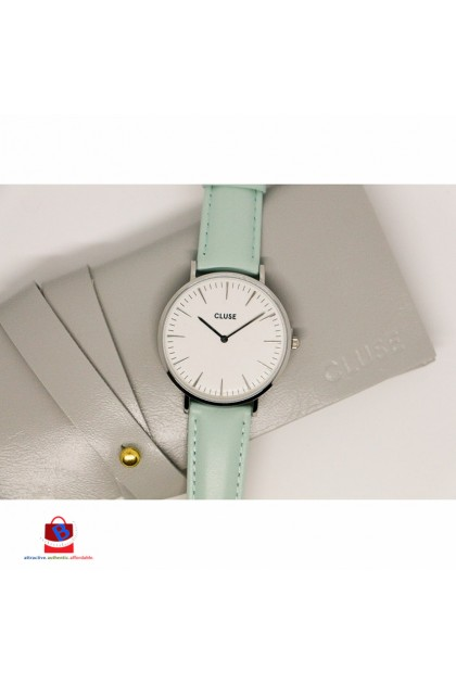 CL18225 Cluse La Bohème Silver White/Pastel Mint