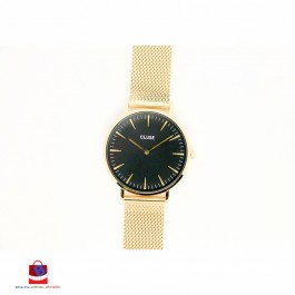 CL18110 Cluse La Bohème Mesh Gold/Black Ladies Watch