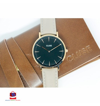 CL18018 Cluse La Bohème Rose Gold Black/Grey Ladies Watch