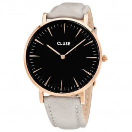 CL18018 Cluse La Bohème Rose Gold Black/Grey Ladies Watch