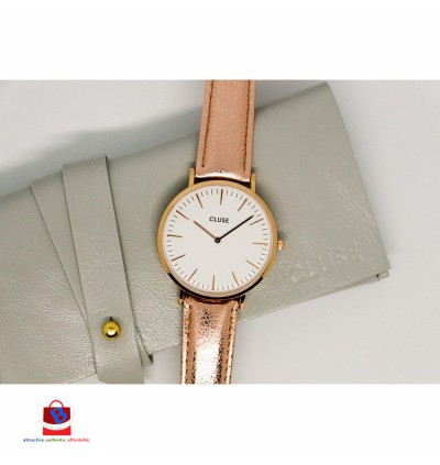 CL18030 Cluse La Bohème Rose Gold White Rose Gold Metallic Ladies Watch