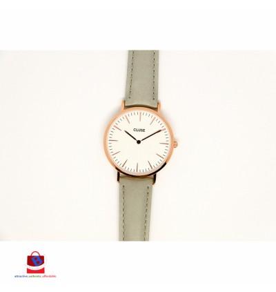 CL18015 Cluse La Bohème Rose Gold White/Grey Ladies Watch