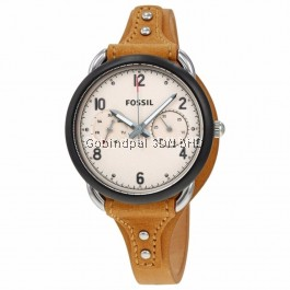 FOSSIL ES4175 Tailor Multifunction Tan Leather Watch