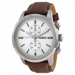 FOSSIL FS4865 Townsman Chronograph Brown Leather Watch