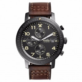 FOSSIL CH3086 The Major Black Dial Men's Chronograph Watch