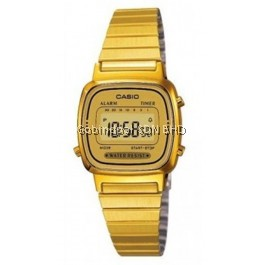 Casio LA-670WGA-9DF Original & Genuine Watch