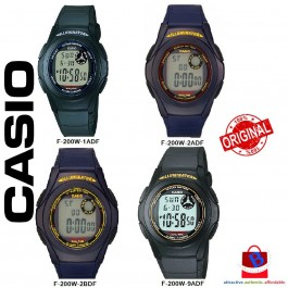 Casio F-200W Series Original & Genuine Digital Watch