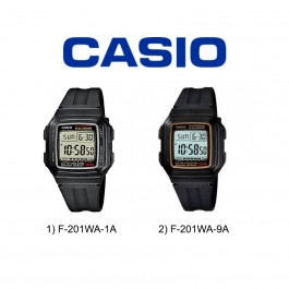 Casio F-201WA Series Original & Genuine Digital Watch