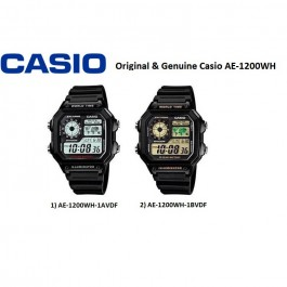 Casio AE-1200WH-1BVDF/AE-1200WH-1AVDF Genuine Watch