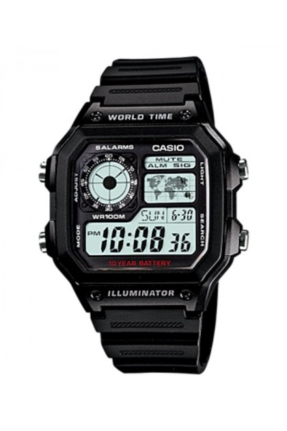 Casio AE-1200WH-1BVDF/AE-1200WH-1AVDF Original & Genuine Watch