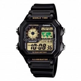 Casio AE-1200WH-1BVDF / AE-1200WH-1BVD / AE-1200WH-1BV / AE-1200WH-1B / AE-1200WH Original & Genuine Watch