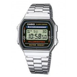 Casio A168WA-1WDF Original & Genuine Watch