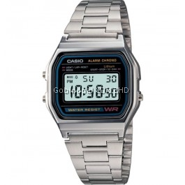 Casio A158WA-1AVDF Original & Genuine Watch