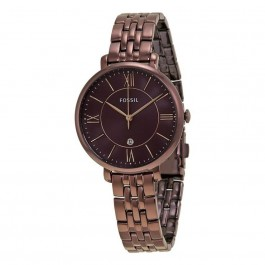 FOSSIL ES4100 Jacqueline Wine Dial Ladies Casual Watch