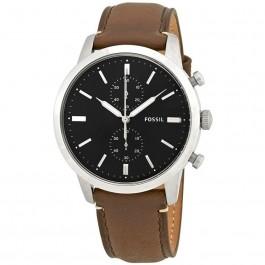 FOSSIL FS5280 Townsman Chronograph Black Dial Men's Watch