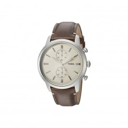 FOSSIL FS5350 Townsman Chronograph Brown Leather Men's Watch