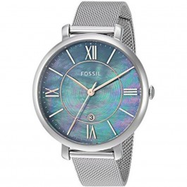 FOSSIL ES4322 Jacqueline Three-Hand Date Stainless Steel Watch