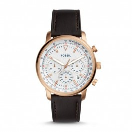 FOSSIL FS5415 Goodwin Chronograph Brown Leather Watch