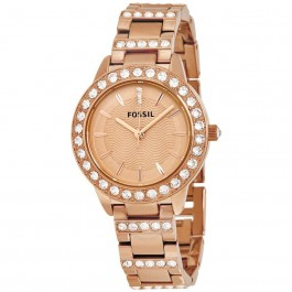 Fossil ES3020 Jesse Rose-Tone Stainless Steel Watch