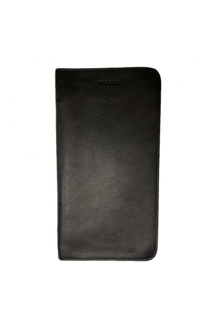 Fossil Men's Multi Zip Passport Case Black MLG0334001