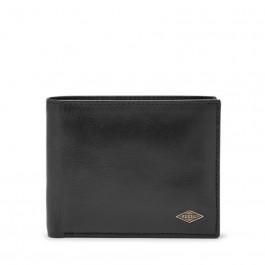 Fossil Men's Ryan RFID Passcase Wallet Black ML3829001