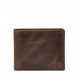 Fossil Derrick RFID Passcase wallets Dark Brown ML3771201