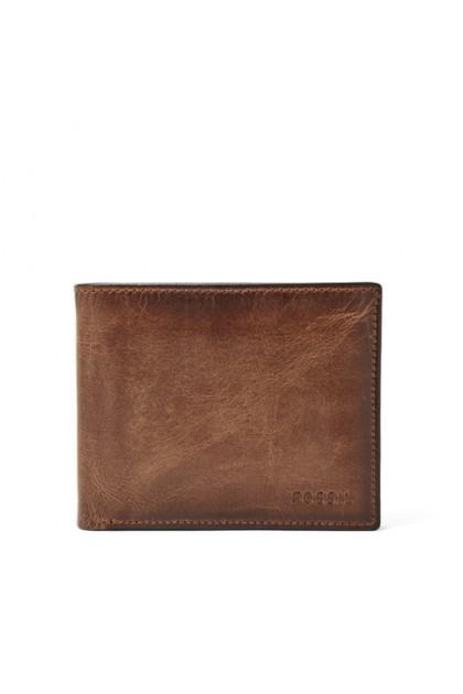 Fossil Men's RFID Derrick Passcase Wallet Brown ML3771200