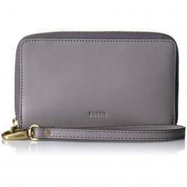 Fossil Emms Rfid Smartphone Wristlet Grey SL7443020