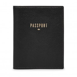 Fossil Rfid Passport Case Black SL7431001
