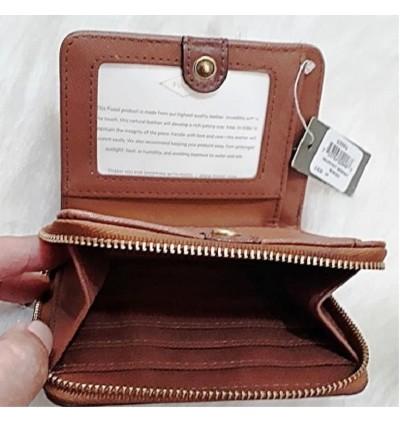 Fossil Emma Rfid Brown Mini Multi Wallet SL7370914