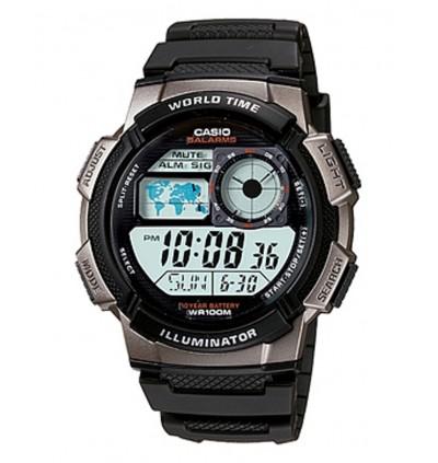Casio AE-1000W-1BVDF / AE-1000W-1BVD / AE-1000W-1BV / AE-1000W-1B / AE-1000W Original & Genuine Watch
