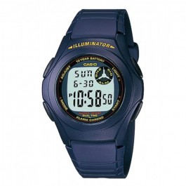 Casio Standard F-200W-2A Kids Digital Watch Classic Simple Young Design